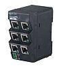 Omron Ethernet Switch, 6 RJ45 port DIN Rail