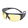 3M SecureFit 600, Amber Safety Glasses Anti-Mist