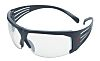 3M SecureFit 600, Clear Safety Glasses Anti-Mist