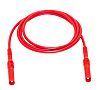 Pico Technology Test lead, 36A, Red, 50cm Lead