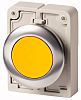 Eaton M30 Series, Yellow Push Button, Momentary, 30mm
