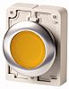 Eaton Flush Yellow - Maintained, M30 Series, 30mm Cutout, Round