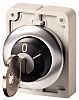 Eaton M30 Key Switch Head - 2 Position, Latching, 30mm cutout