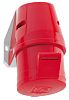 Bals IP44 Red Wall Mount 3P+E Industrial Power