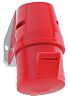 Bals IP44 Red Wall Mount 3P+N+E Industrial Power