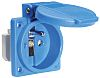 Bals IP54 Blue Panel Mount 2P+E Industrial Power