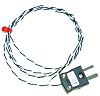 RS PRO Type J Thermocouple 2m Length, 0.3mm