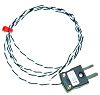 RS PRO Type J Thermocouple 1m Length, →