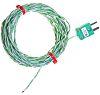 RS PRO Type K Thermocouple Teflon PFA probe,