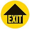 Vinyl Exit, EXIT, English, Exit Sign