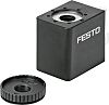 Festo 24V dc Replacement Solenoid Coil, Compatible With