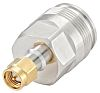 Straight 50Ω Coax Adapter SMA Plug to 4.3-10