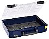 Raaco 32 Cell Blue Polypropylene Compartment Box, 83mm