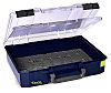 Raaco 1 Cell Blue Polypropylene Compartment Box, 83mm