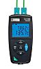 Chauvin Arnoux C.A 1822 E, J, K, N, R, S, T Input Wireless Digital Thermometer, for Multipurpose Use With RS Calibration