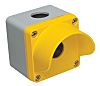 RS PRO Yellow Die Cast Aluminium Push Button
