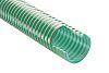 RS PRO PVC Hose, Green, 47.6mm External Diameter,