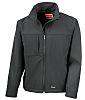 RS PRO Black Elastane, Polyester Men's Work Jacket,