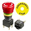 APEM Panel Mount Emergency Button - Turn to
