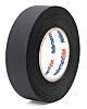 HellermannTyton Black Cloth Tape 25m, 0.25mm Thick