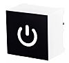 Capacitive Touch Switch ,Illuminated, White