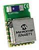 Microchip RN4871-I/RM128 Bluetooth SoC 4.2