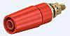 Multi Contact Red Female Banana Plug - Bolt,