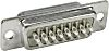 HARTING, STAMPED 37 Way Panel Mount D-sub Connector