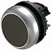 Eaton Flush Black Push Button Head - Maintained,