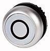 Eaton Flush White Push Button Head - Momentary,