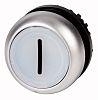 Eaton Flush White Push Button Head - Maintained,