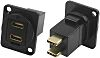 RS PRO USB Connector, Panel Mount, Female to