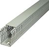 SES Sterling GN-A6/4 LF Grey Slotted Panel Trunking