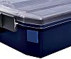 Raaco Blue PS Compartment Box, 22mm x 22mm