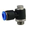 RS PRO Pneumatic Banjo Threaded-to-Tube Adapter Push In