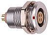 Lemo Circular Connector, 6 contacts Panel Mount M12
