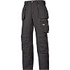 Snickers Craftsman Black Men's Cotton, Polyester Trousers