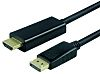 Roline Display Port to UHDMI Cable, Male to