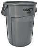 Rubbermaid Commercial Products Brute 167L Grey Polyethylene Waste