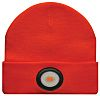 Unilite Orange Acrylic LED Beanie Hat