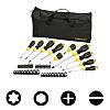 Stanley Interchangeable Phillips, Slotted, Torx Screwdriver Set