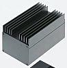 Rose Multitronic, Black Die Cast Aluminium Enclosure, IP40,