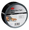 3M 2904 Black Duct Tape, 48mm x 50m,
