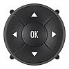 Black Push Button Cap for use with Controlmec