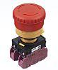 Idec Panel Mount Mushroom Head Emergency Button -
