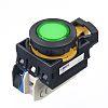 Idec, CW Illuminated Green Flush Push Button, NO,
