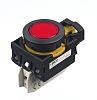 Idec, CW Illuminated Red Flush Push Button, 22mm