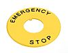 Idec HWAV Emergency Stop Plate for use with