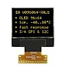Electronic Assembly Yellow Passive matrix OLED Display 96