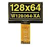 Electronic Assembly Yellow Passive matrix OLED Display 128